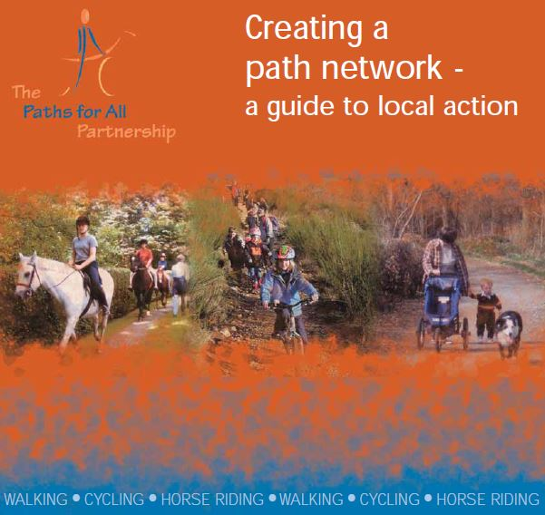 Creating a path network - A guide to local action front cover