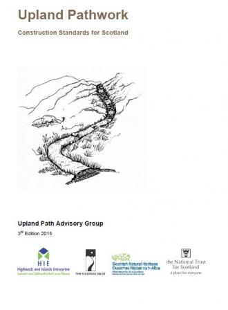 Upland Pathwork Construction Standards for Scotland front cover