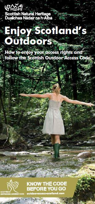 Enjoy Scotland's Outdoors front cover