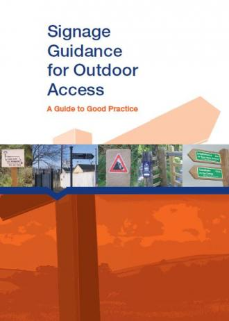 Signage Guidance for Outdoor Access - A Guide to Good Practice front cover
