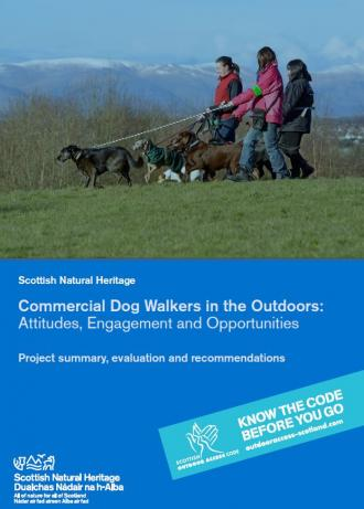 Commercial dog walkers front cover