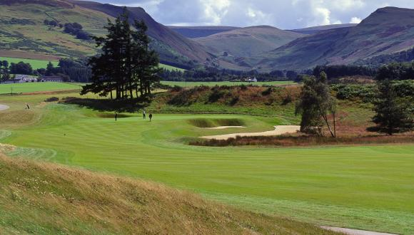 The PGA course, Gleneagles, Perthshire. ©Lorme Gill/SNH. For information on reproduction rights contact the Scottish Natural Heritage Image Library on Tel. 01738 444177 or www.nature.scot