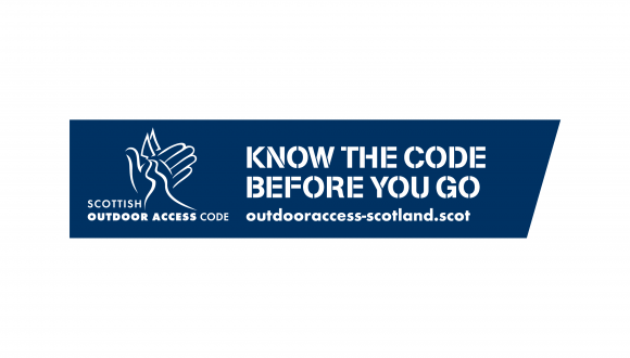 Know the Code English logo blue white background PNG for Hero image